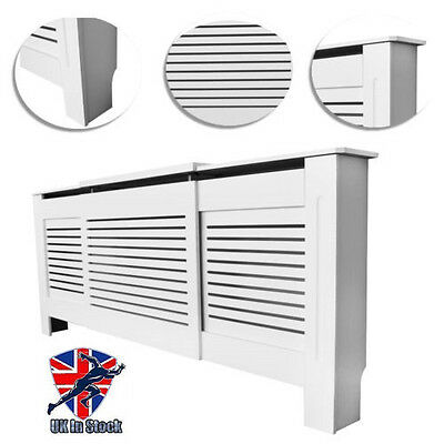 Top Radiator Cover Cabinet Classic Design Finish Hide Radiators All Size UK