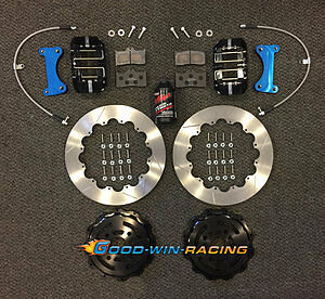 Goodwin Racing (GWR) 12.88 Big Brake Kit (Front)  - 17'+ Fiat 124 Spider