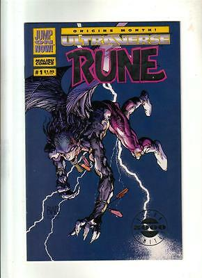 Rune #1- Ultra Limited Edition; Barry Smith Malibu 1984  NM (9.4)