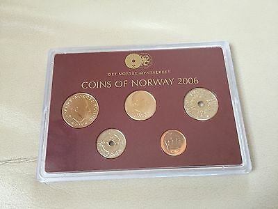Norwegen 36,50 Kronen 2006 PP Exlusiv Set Proof Coins of Norway Münzen Rarität