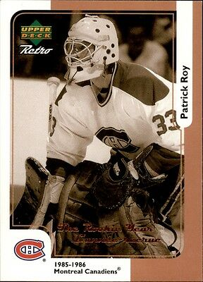 NHL Hockey Card 1999-00 McDonald's Upper Deck #MCD15R Patrick Roy