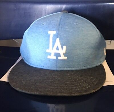 Corey Seager Los Angeles Dodgers Game Used Worn Hat 2017 MLB Auth