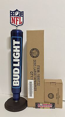"Bud Light 2016 Logo NFL Aluminum Beer Tap Handle 16"" Tall - Brand New In Box!"