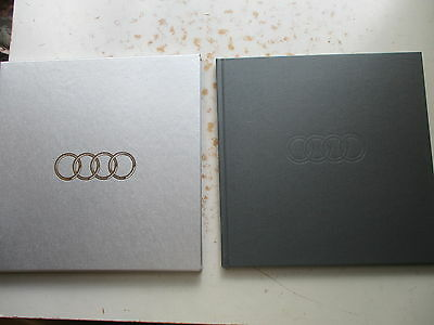 Audi: Sharing a Singular Vision 1899-2000 Promotional Hardcover in Box/Sleeve