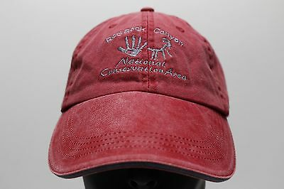 Red Rock Canyon National Conservation Area Las Vegas - Adjustable Ball Cap Hat!