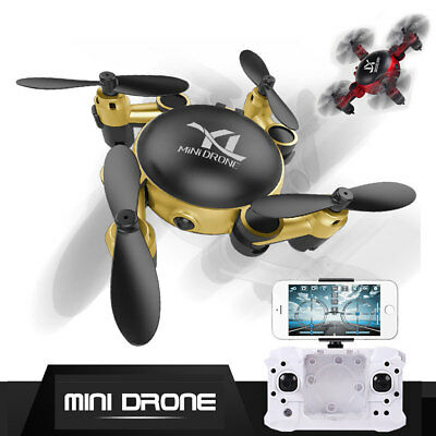 2.4GHz Foldable Mini Pocket WIFI Camera RC Quadcopter 6-Axis Gyro FPV Drone