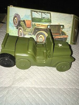 Avon Military Jeep - Vintage Decanter - Army Jeep Wild Country After Shave Full