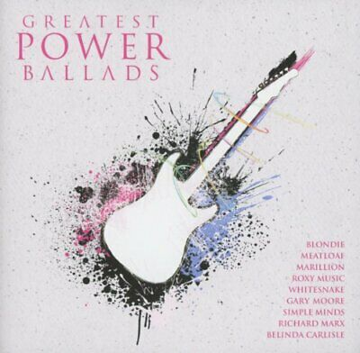 Greatest Power Ballads -  CD Z6VG The Cheap Fast Free Post The Cheap Fast Free