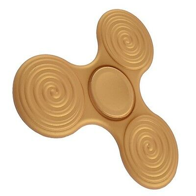 Plastic Hand Finger Tri Spinner Fidget ADHD Focus Stress Relief Toy Kids Adults