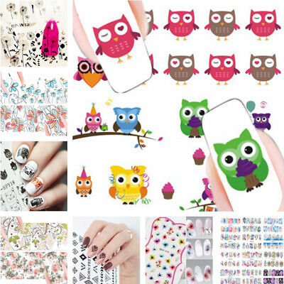 Dream Catcher Owl Dandelion Nail Art Water Decals Adhensive Transfer Stickers