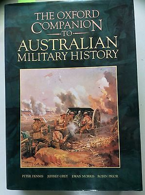The Oxford Companion to Australian Military History! (HC 1995) First Ed, VGC