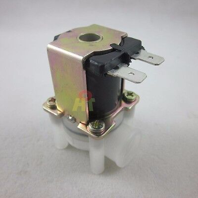 """DC 12V 1/4"""" Inlet Feed Water Thread Female Solenoid Valve for RO Reverse Osmosis"""