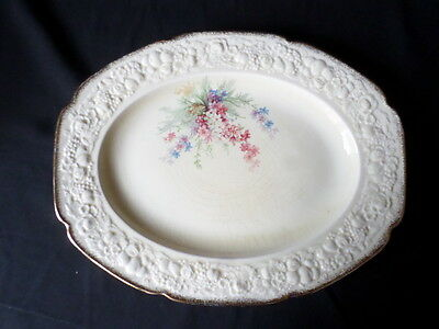 Crown Ducal. Florentine. Picardy. Large Serving Plate. Made In England.
