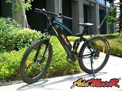 Addmotor HITHOT Electric Mountain Bike Bicycle 500W 11.6AH E-bike High Speed H1P
