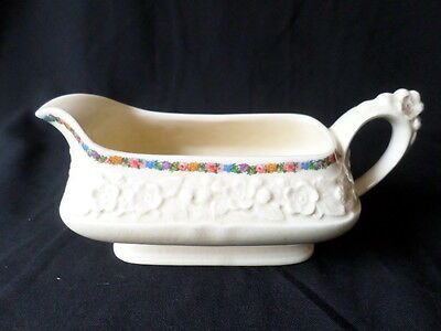 Crown Ducal. Gainsborough. Large Gravy Boat. Made In England. Rg. No. 749657