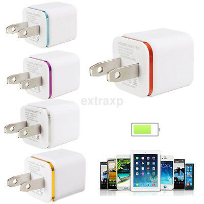 Universal Mini USB 5V/1A Home Travel Wall Charger Power Fast Charging Adapter