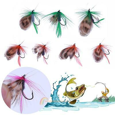 12pcs Fly Fishing Flies Lure Baits Saltwater Freshwater Fly Fishing Tackle Lures