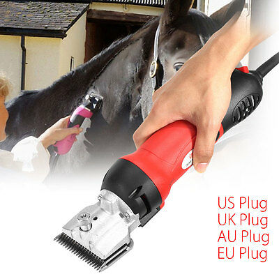 350W Horse Equine Animals Shearing Electric Trimmer Shaver Clipper Hair Grooming