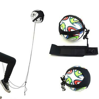 Football Kick Trainer Skills Soccer Practice Training Equipment Waist Belt JJ