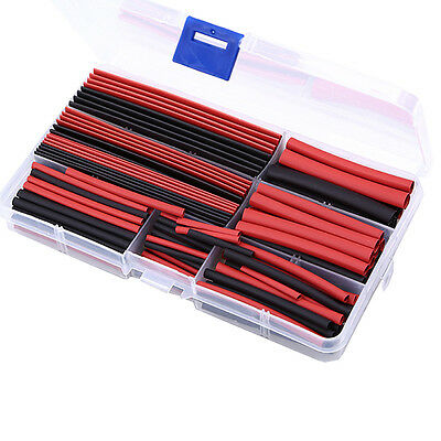 150 Pcs Heat Shrink Tubing Tube Sleeving Electrical Connection Cable Assortment