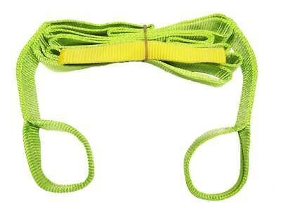 50MM x 10 Metre 5 Ton High Visibility Tow Strap - 4x4 Off Road Long Length 10M