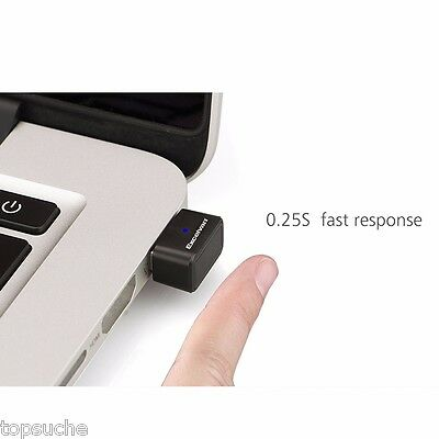 Mini Sicherheit USB Fingerprint Leser Reader Password Lock für Windows Computer