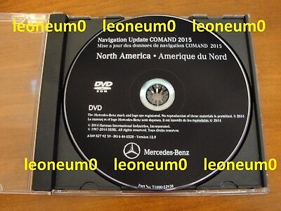 Mercedes 2015-2016 NTG2 (MCS II) Navigation Map Update DVD ver.12 Command Aps