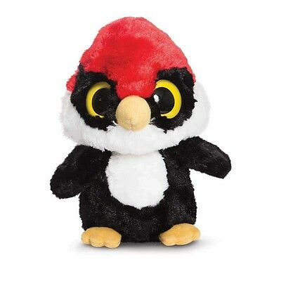 Aurora World Plüschtier Yoohoo & Friends Woodee Woodpecker Helmspecht 12,5 cm