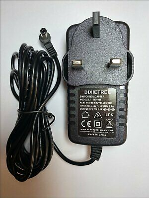GOOD LEAD Buffalo HD LBU2 Hard Drive 12V new Replacement Power Supply Adapter Cable NEW