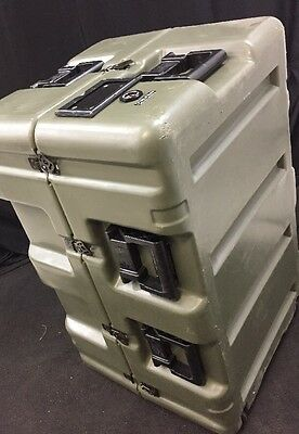 HARDIGG 33x21x20 Wheeled Medical Supply Chest #6 Pressure Release w/Divider Exc.