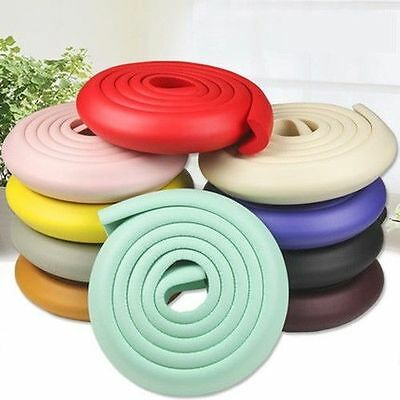 Baby Kid Safety Table Corner Softener Edge Cushion Strip Guard Protector 2 Meter