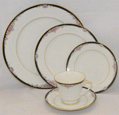 1-Noritake BELLE EMPRESS 5-Piece Place Setting(s) # 3980 ( 6 Available)
