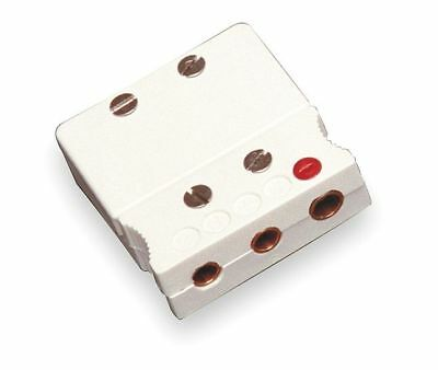 Tempco Thermocouple Jack, White, Thermocouple Type: Cu, Plug or Connector Type: