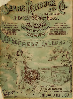 Sears Department Store General Merchandise Catalog on DVD
