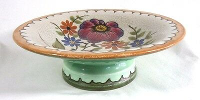 **** Lovely Gouda Footed Serving Dish (Plate) *****