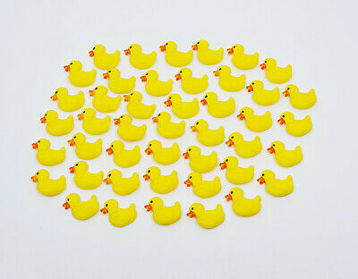 Ducks -** Mini Edible Cake Toppers X 20* - Yellow Or Choose Your Own Colours