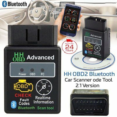 Bluetooth OBD2 V2.1 ELM327 Android Torque Car Scanner Auto DTCs Scan Tool NEWEST