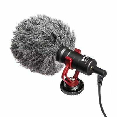 BOYA BY-MM1 Cardiod Photography Interview Mic Microphone fr NikonCanon Camera DV