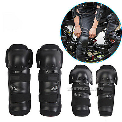 4x Motorcycle Cycling Elbow Knee Pads Protective Protector Guard Armors Set Kit
