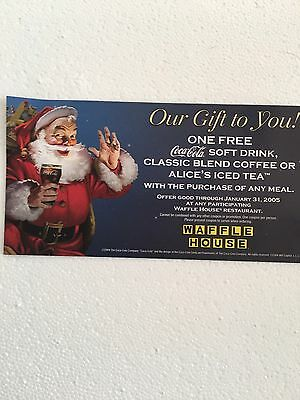 Waffle House Christmas Gift Card From 2004