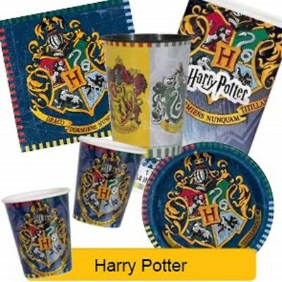 HARRY POTTER Birthday Party Range - Tableware Supplies Decorations Pack{Unique}