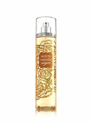 BATH & BODY WORKS Warm Vanilla Sugar Fine Fragrance Body Spray Mist