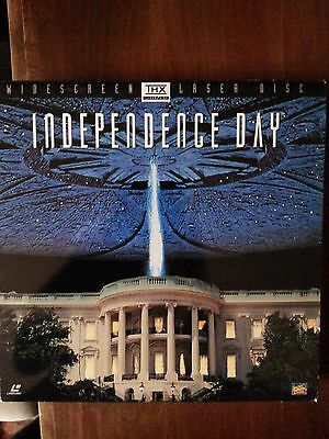 Independence Day, Laserdisc Widescreen 1996 in inglese Will Smith,Bill Pullman R