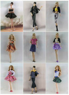 6 Set Lovely Fashion Casual Wear Dress/Clothes/Outfit For 11.5in.Doll Y02