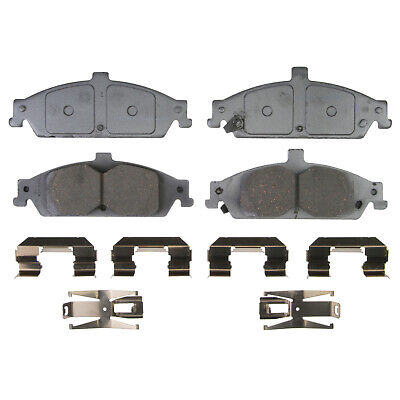 Disc Brake Pad Set-ThermoQuiet Disc Brake Pad Front Wagner QC1258A