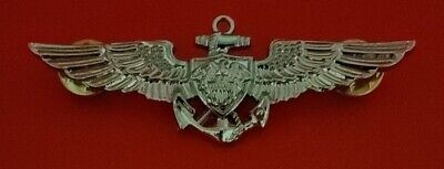 US Navy Aviation Wing Badge Naval Aviator Pilot Pin Military Insignia USN