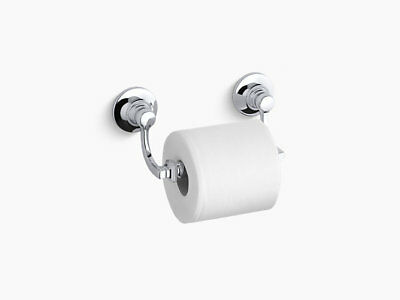NEW!!! KOHLER Bancroft® toilet tissue holder - K-11415 CP  Polished Chrome BNIB