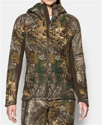 5f9331aee8430 Under Armour UA Women's Stealth Hunting Hoodie Realtree Camo 1282690-947  $159.99