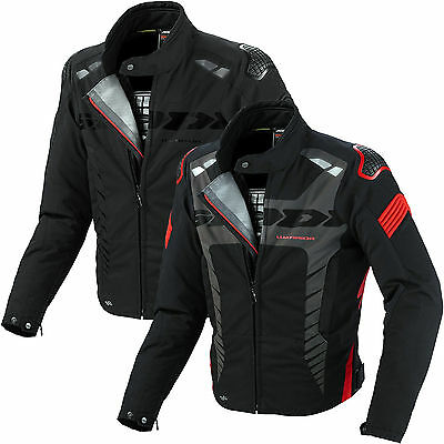 Spidi H2Out Warrior Sport Waterproof Motorcycle Bike Jacket With Forcetech Armor