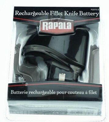 Rapala PGEFR-B Rechargeable Deluxe Cordless Fillet Knife Battery Pack - NEW